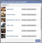 Administradores de Facebook