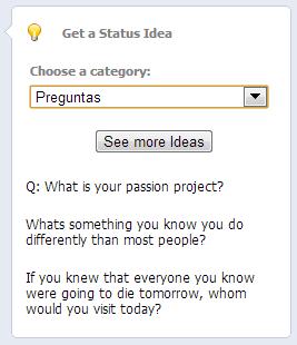 PosPlanner Get a Status Idea