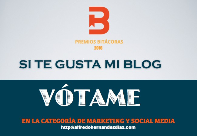 Vota Premios Bitácoras 2016