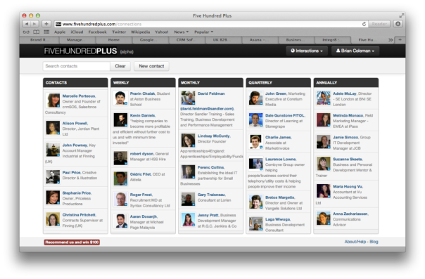 Five Hundred Plus LinkedIn