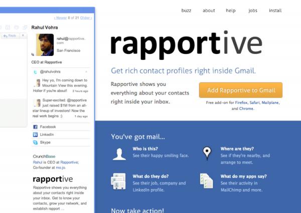 LinkedIn Rapportive