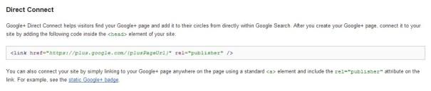 Conexión Directa Google Plus