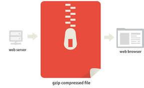 Compresión Gzip Velocidad Carga Pagina Web