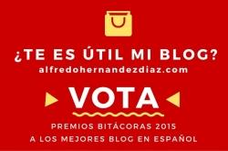 Voto a Premios Bitácoras 2015