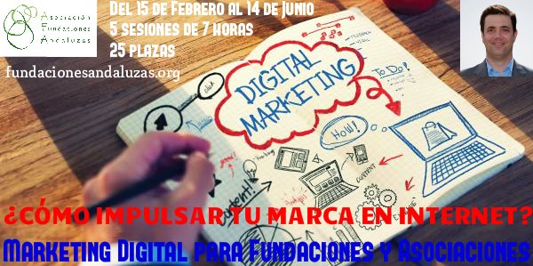 Curso de Marketing Digital para Fundaciones y Asociaciones