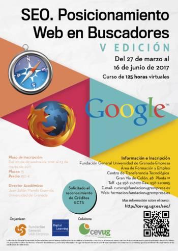 Curso Online SEO Universidad de Granada | Marzo-Junio 2017