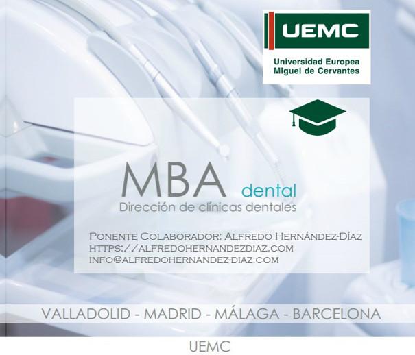 Máster en Gestión y Dirección de Clínicas Dentales (MBA Dental)