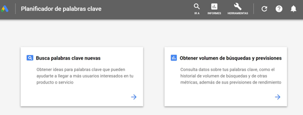 Planificador de Google Ads