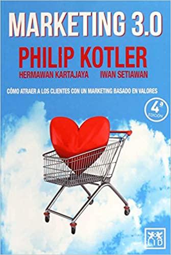 Libro Marketing 3.0 de Philip Kotler
